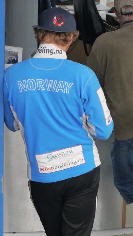 Norwegischer Segler