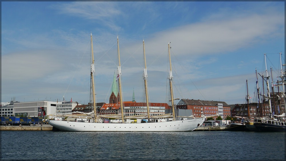 Viermaster Santa Maria Manuela, Kiel, Juni 2016