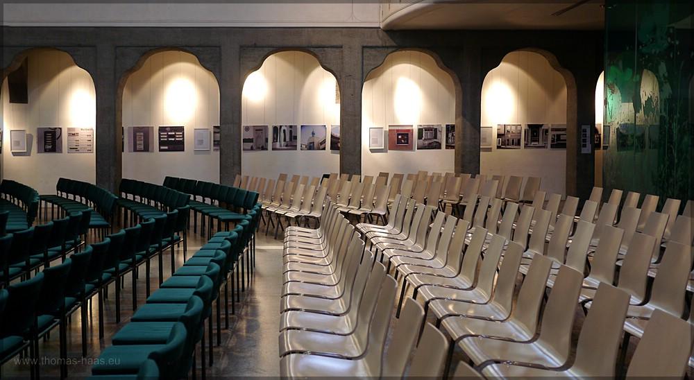 Längsseite, Pauluskirche Ulm, Juli 2016