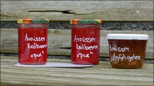 Marmelade und Gelee für den Direktverkauf