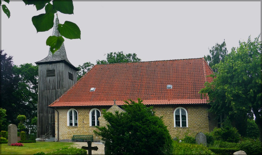 Schifferkirche in Arnis, Juni 2016