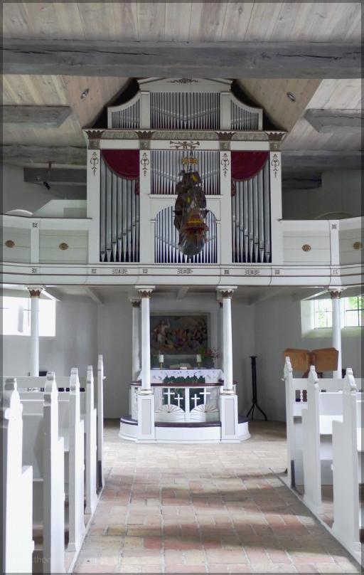 Kirche Arnis, Innenraum, Juni 2016