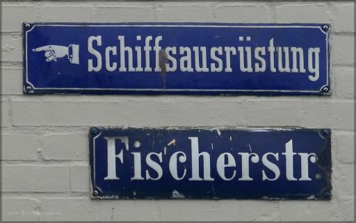 Straßenschild, Juni 2106