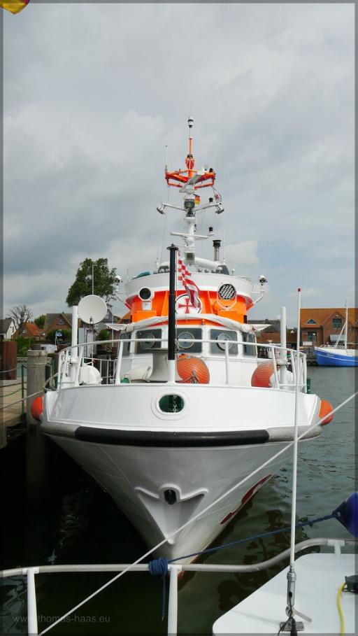 """DGzRS """"Nils Randers"""" im Heimathafen Maasholm, Juni 2016"""