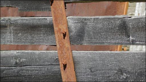 Detail einer alten Lore, August 2016