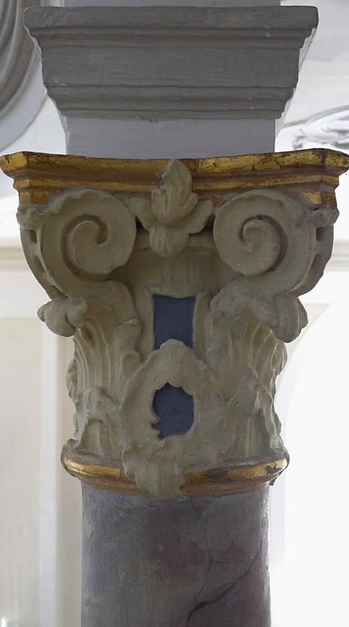 Ornamente an Säule