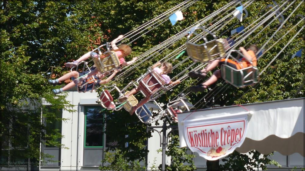 Kettenflieger und Crêpes, August 2016