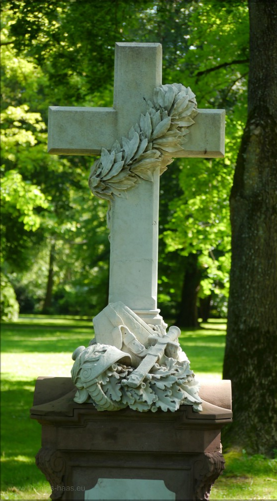 Alter Friedhof in Ulm, Grabstein