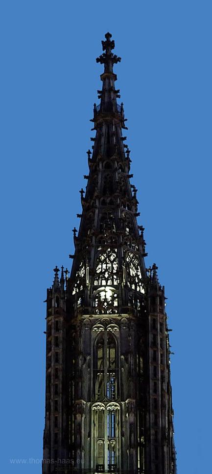 Die Spitze von Ulm...