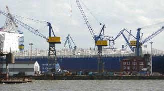 Werftgelände Blohm+Voss, Sept. 2016