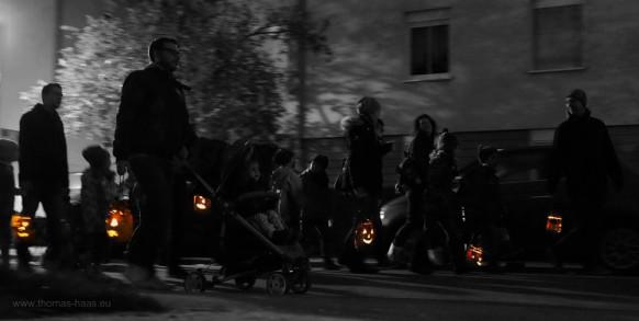 Rübengeister, eine Bildbearbeitung, Oktober 2016