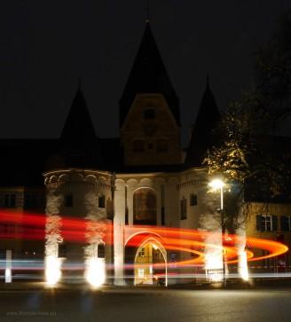 Leuchtspuren am Oberen Tor, November 2016