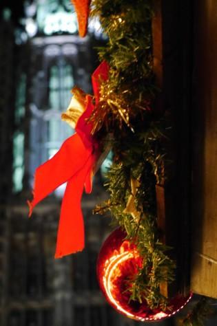Weihnachtsmarkt in Ulm - im Schatten des Münsters