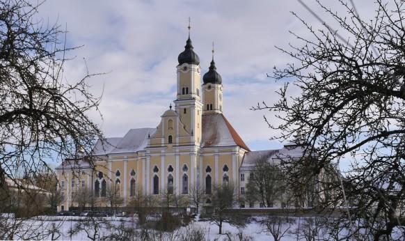Roggenburg im Schnee, Jan. 2017