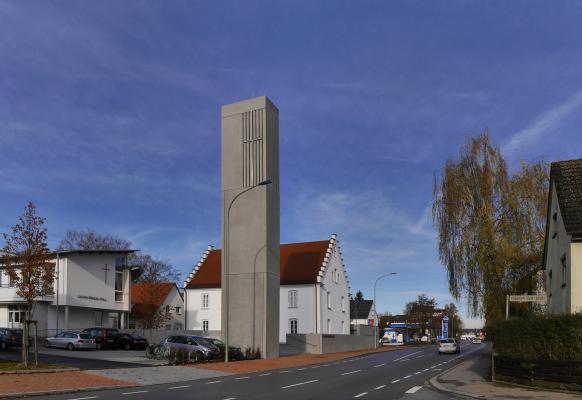 Christuskirche Illertissen, Oktober 2016