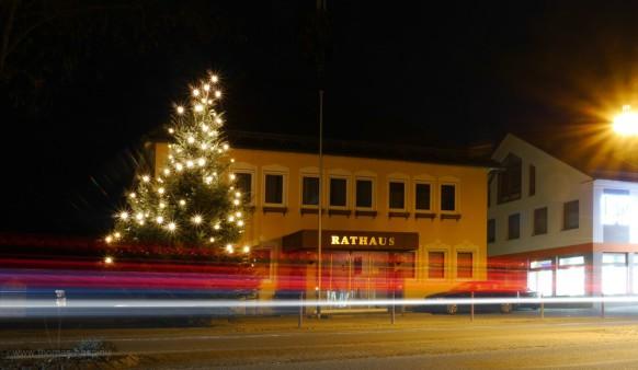 Weihnachtsbaum, Bellenberg, Dezember 2016
