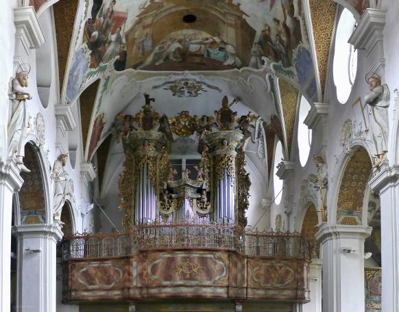 Orgelempore, St. Magnus, März 2017