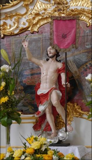 Der auferstandenen Christus in Roggenburg.