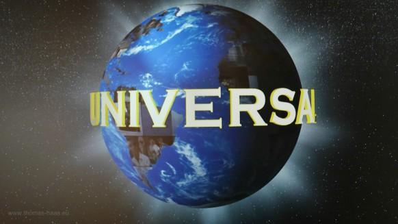 """Video-Installation des Universal-Logos, Ausstellung """"Carl Laemmle"""", 2017"""