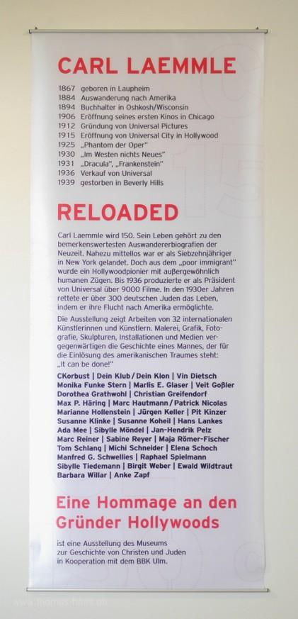 Ausstellungsbanner, 2017