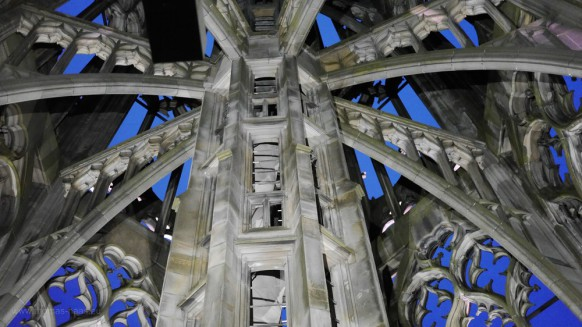 Turmhelm zur blauen Stunde, Mai 2017