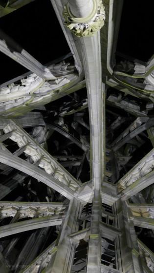 Architektur in besonderem Licht, Münsterturm, Ulm