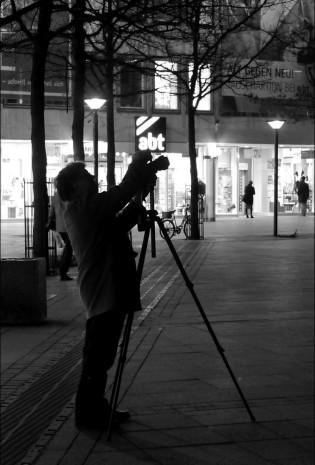 Fotograf in der Nacht...