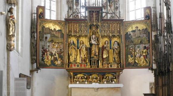 Hochaltar im Chorraum, 1493