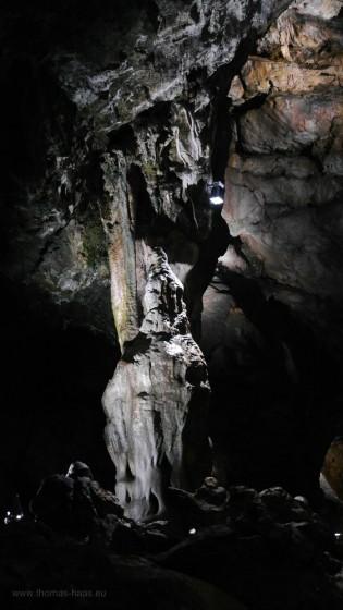 In der Charlottenhöhle...