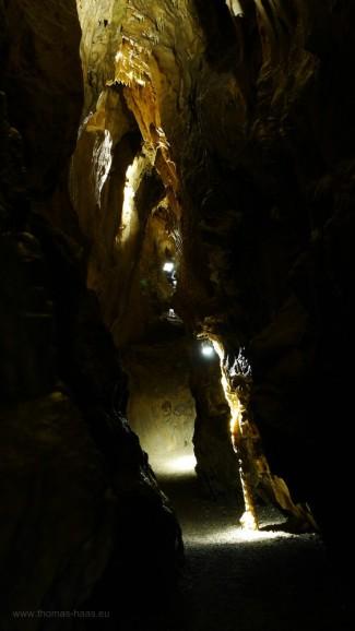 Das Schlüssellochprofil der Charlottenhöhle