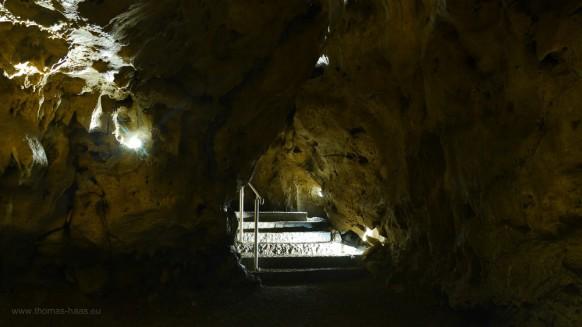 Der Weg durch die Höhle...