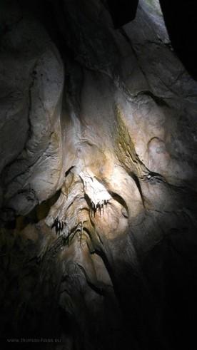Blick zur Höhlendecke...