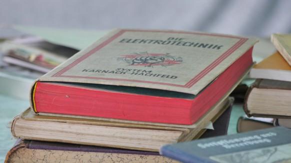 Alte Bücher, Juli 2017, Blaubeuren