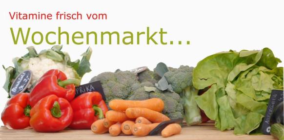Versorgung vom Wochenmarkt...