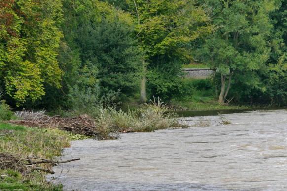 Illerspitze, die Mündung in die Donau...