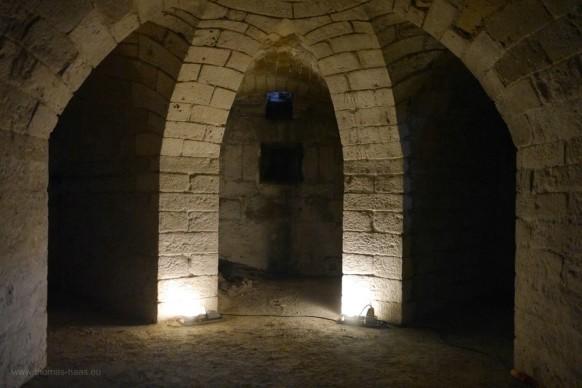 Keller des südlichen Turms, Blaubeurer Tor, Ulm, 2017
