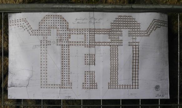 736 Holzpfähle - Der Plan mit der Gründung