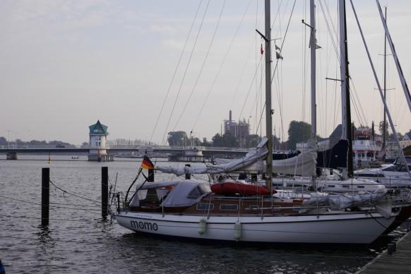 Kappeln, Hafen und Schleibrücke, 2017