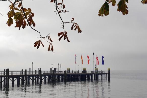 Oktober am Bodensee, Anlegestelle Kressbronn
