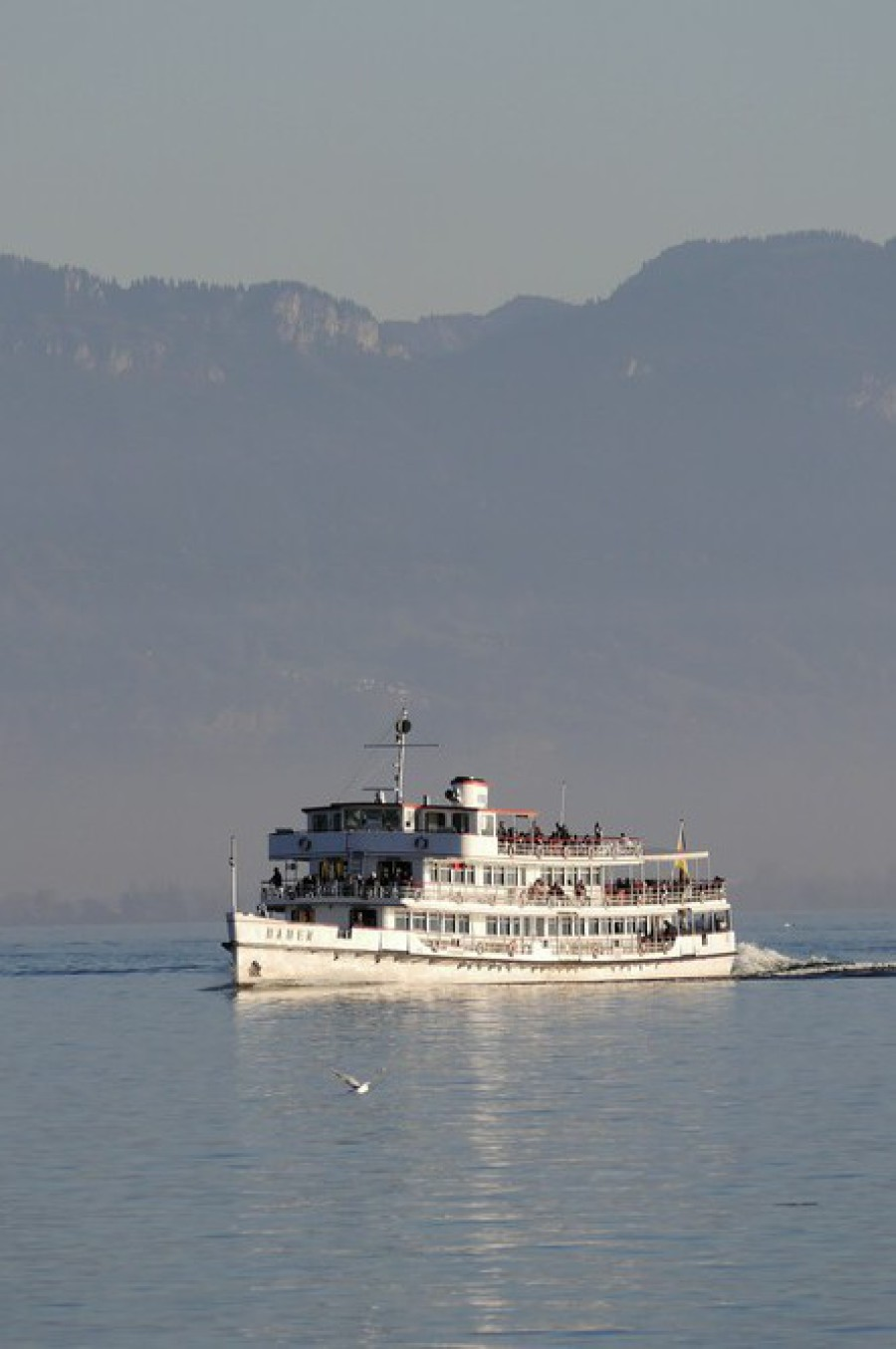 """Die """"Weiße Flotte"""" auf dem Bodensee..."""
