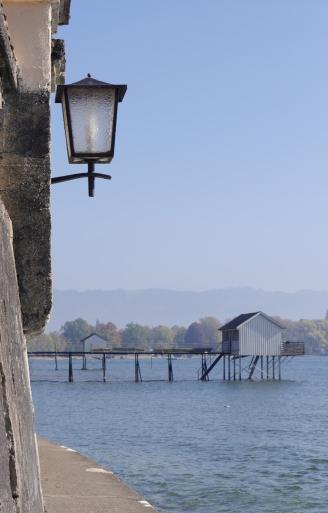 """Der """"Schmale Weg"""" in Wasserburg"""