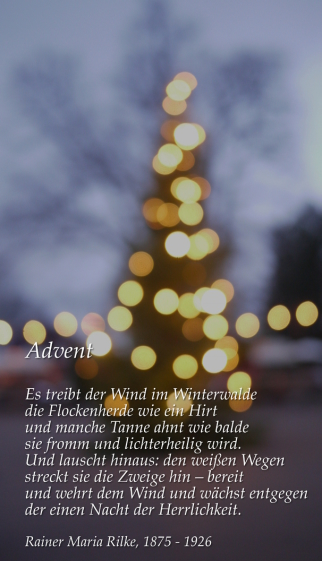 Adventsgedicht...