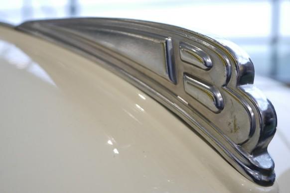 """Das """"B"""" vom Borgward-Logo"""