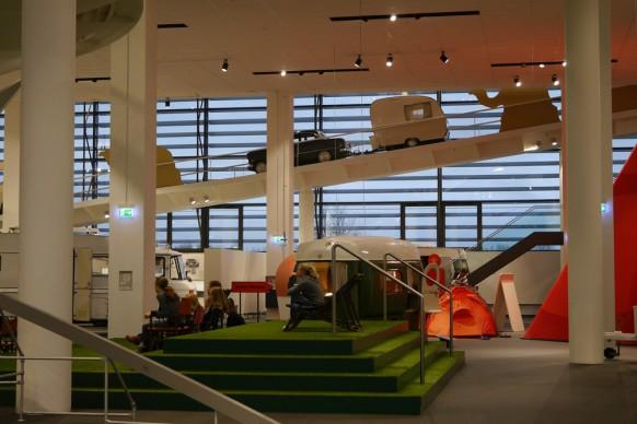 Veranstaltungsinsel im Museum