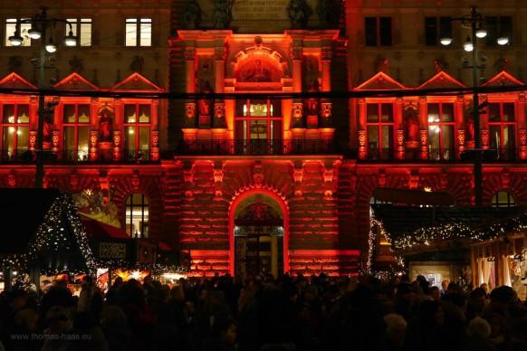 Weihnachtsmarkt Hamburg 2017, Rathausmarkt