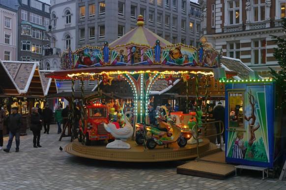 Weihnachten auf dem Gänsemarkt, Hamburg, 2017