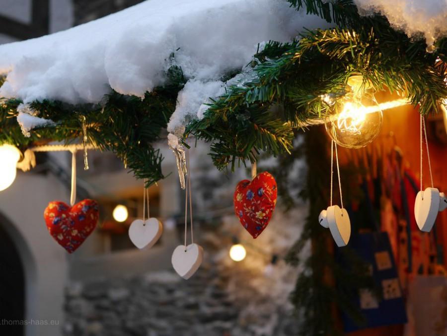 Weihnachtsdeko, Bregenz, Dezember 2017