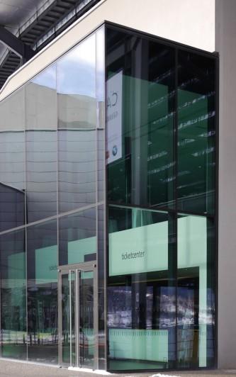 Architektur: Gebäude an der Seebühne, Bregenz