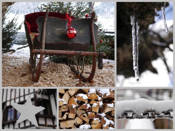 Weihnachtklich und winterlich, Dezember 2017