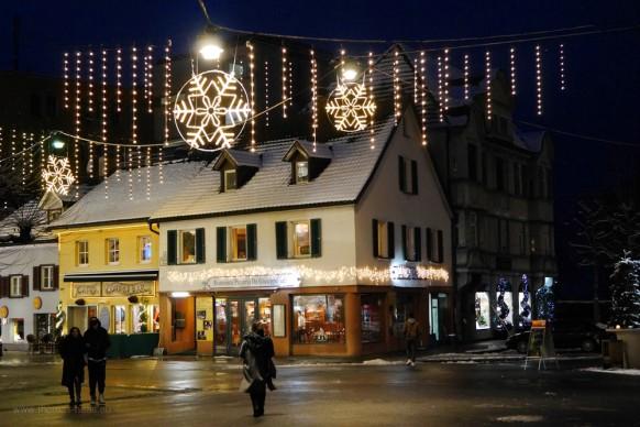 Unterstadt Bregenz im Dezember 2017